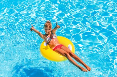 Child swimming pool.