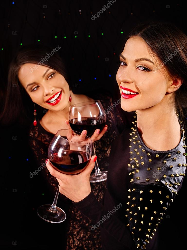 Zwarte Lipstick lesbiennes