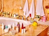 fürdőszoba interior, pezsgőfürdő