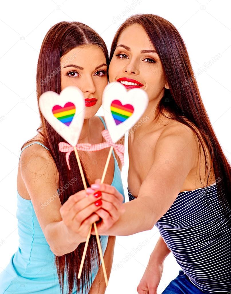 Hoe lesbische schaar