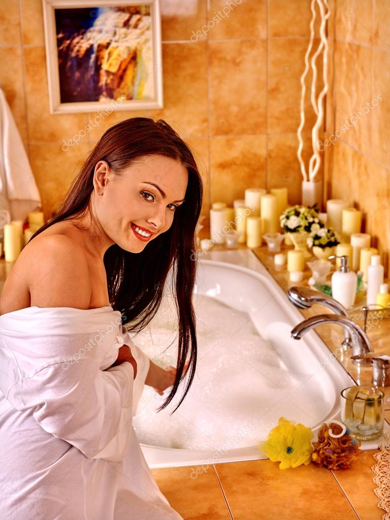 Married Woman Relaxing In Bath Stock Of Interior Photos 1