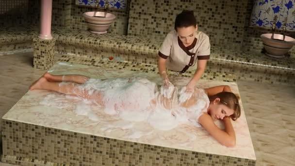 Massaggio turco in hammam