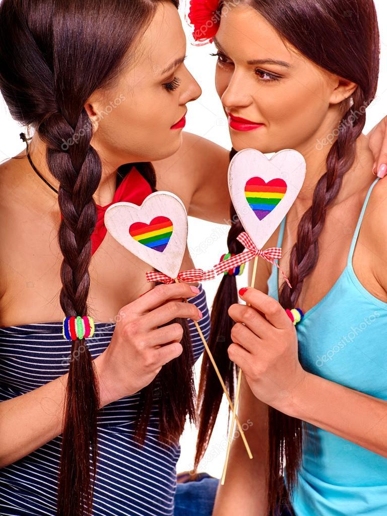 Lesbisch speelgoed spelen