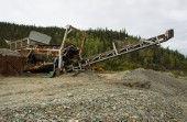 Novodobá těžba Rýžoviště