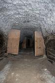 Podzemní mrazničky v Tuktoyaktuk