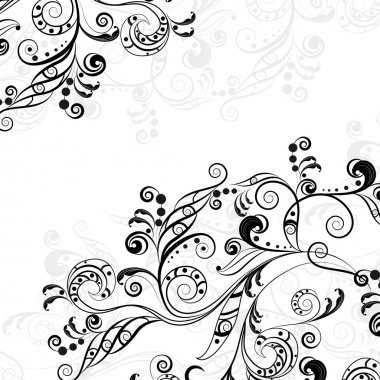 Floral abstract pattern 5