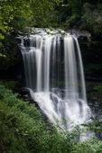 Dry Falls Waterfall near Highlands NC