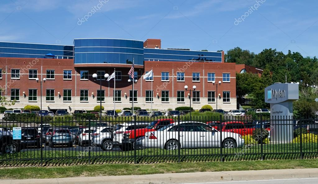 Mylan facility in Morgantown WV – Stock Editorial Photo