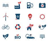 Fényképek Alternatív energia egyszerűen ikonok