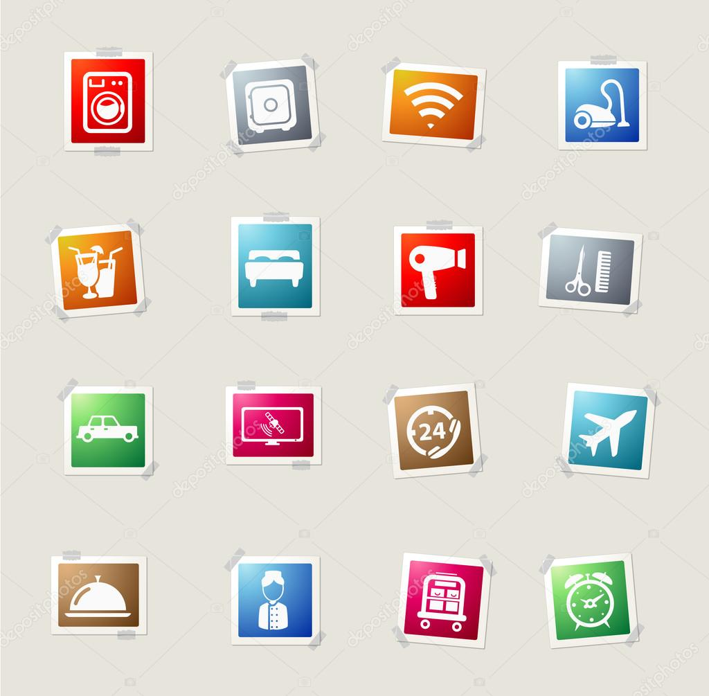 A Hotel Simply Hotel Simply Icons Stock Vector Ac Ayax55 94445968