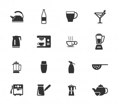 Utensils simply icons