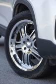 Photo Steel disc wheels