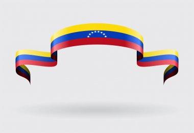 Venezuelan flag background. Vector illustration.