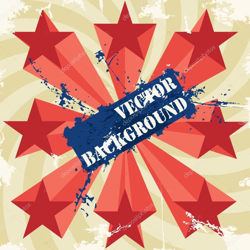 Постер со звездой с датой концерта