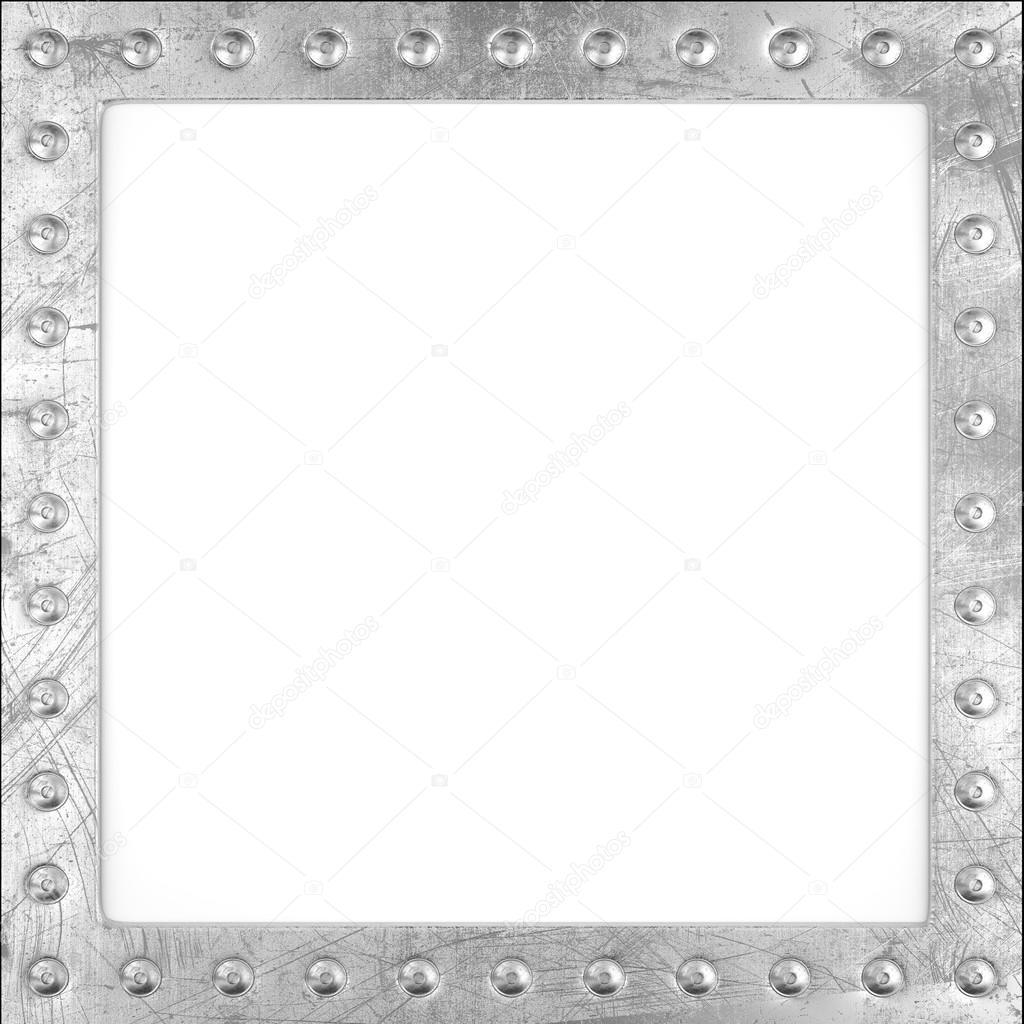 Marco de metal rayado — Fotos de Stock © AndKud #71385683