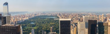 Central Park and Upper Town, New York