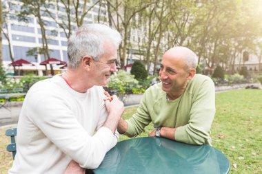Gay Couple at Park