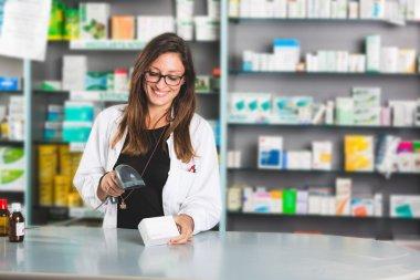 Beautiful Female Pharmacist