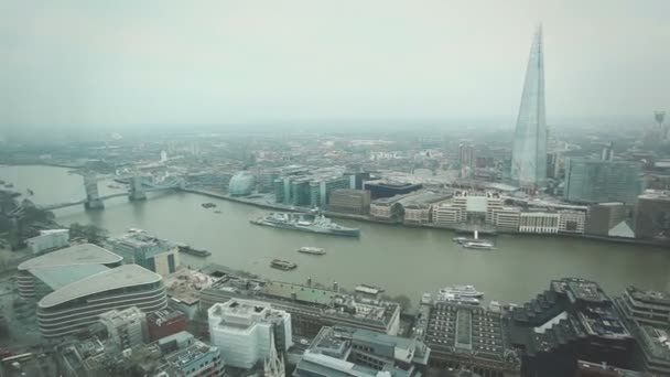 London with Tower Bridge and Thames river