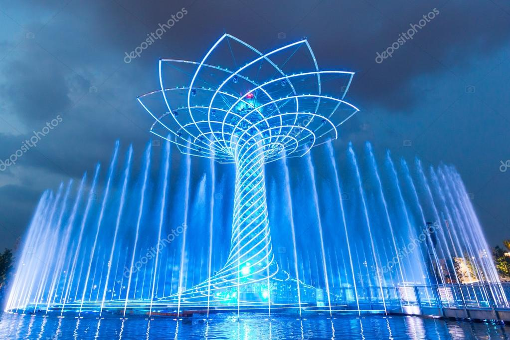 The tree of Life at Expo in Milan