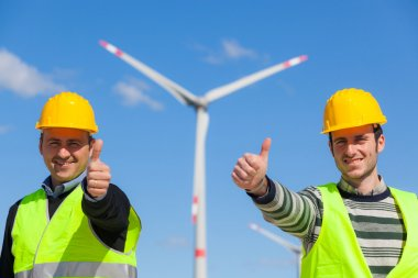Technician Engineers Thumbs Up