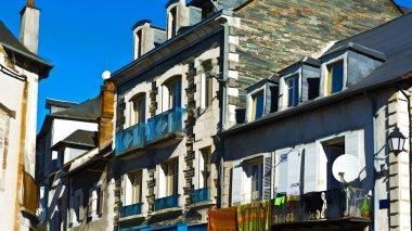 """Картина, постер, плакат, фотообои """"Небольшой французский город"""", артикул 111359528"""
