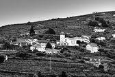 Fotografia villaggio con Chiesa