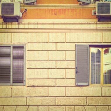 Conditioner on Facade