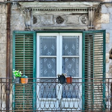 Window in Palermo
