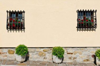 Facade of Italian Home