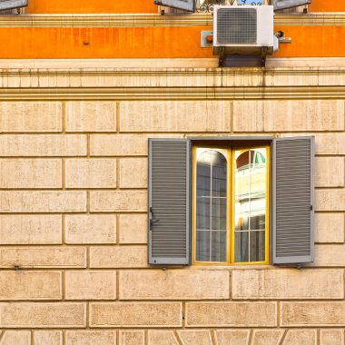 Window with Conditioner