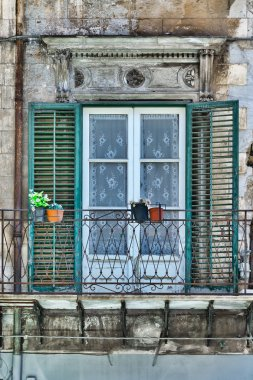 Window in Palermo
