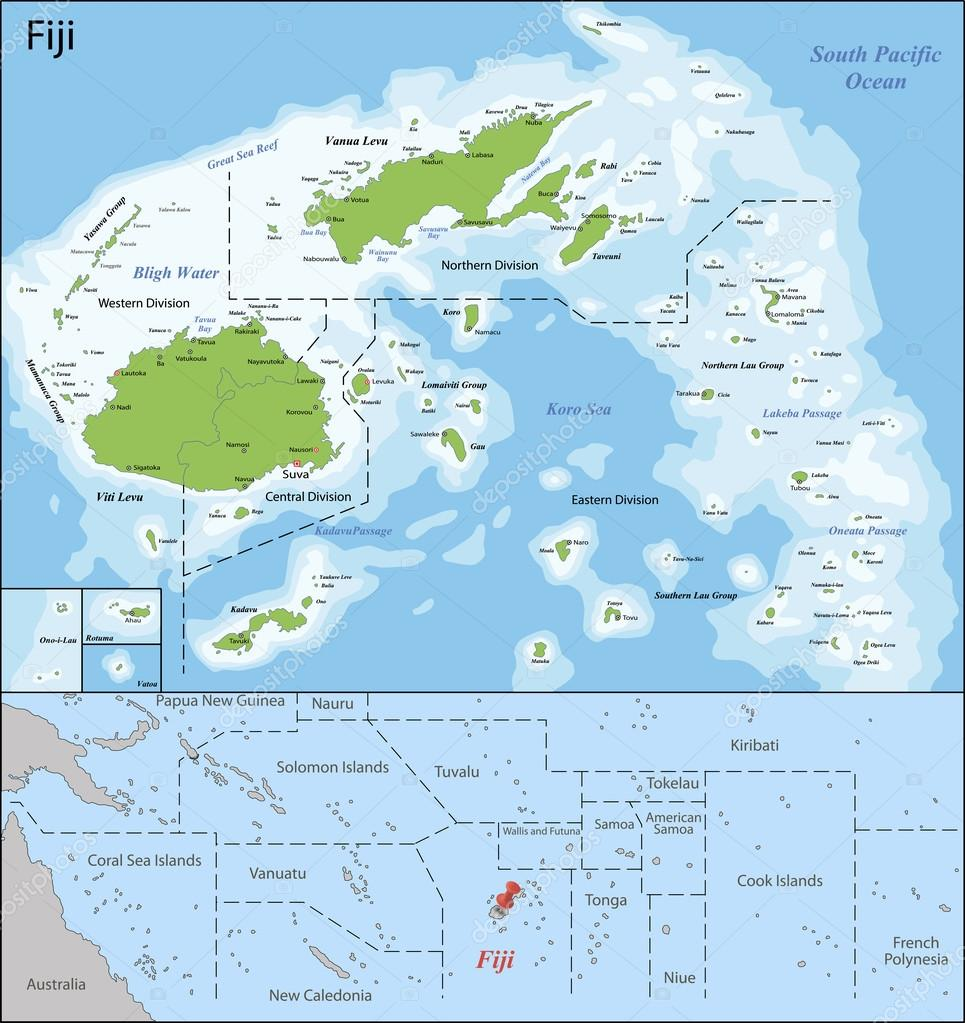 Mapa de fiji vector de stock volina 71551993 mapa de fiji vector de stock gumiabroncs Choice Image
