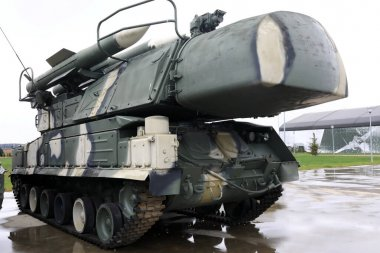 View of anti-aircraft missile system SA-11 Gadfly, Russia