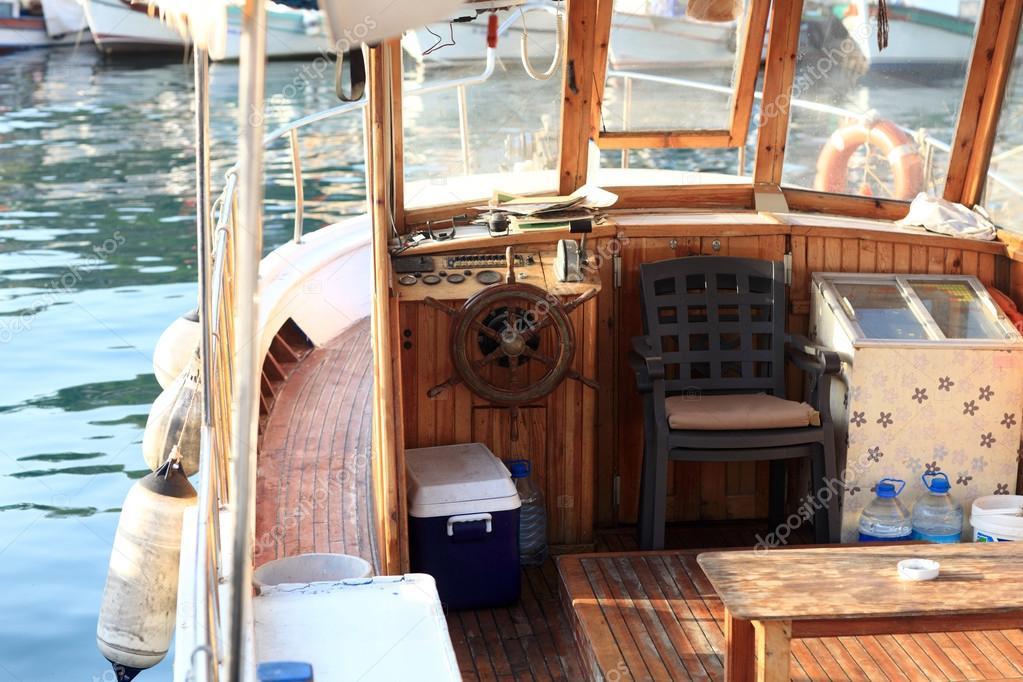 Interno Della Barca Foto Stock Achubykin 55518589