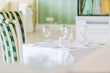 cozy restaurant interior