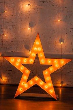 golden shining star