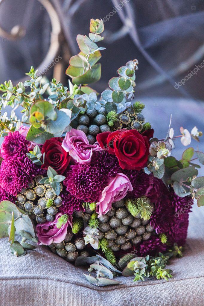 nice flowers bouquet — Stock Photo © Shebeko #104904986