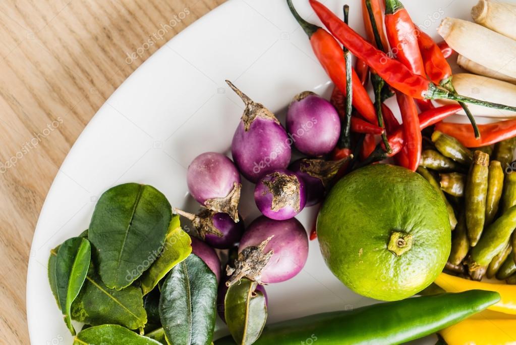 Traditionelle Thai Küche   Traditionelle Thai Kuche Stockfoto C Shebeko 110480920