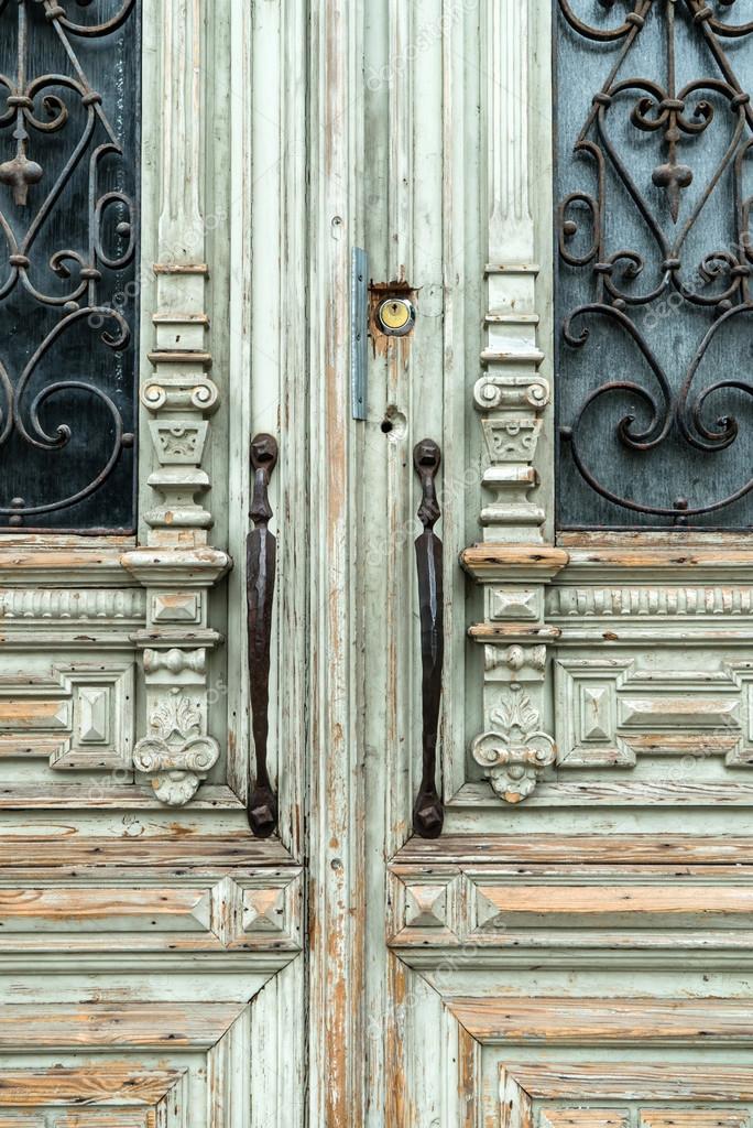 Vintage Tür alte vintage tür — stockfoto © shebeko #113903208