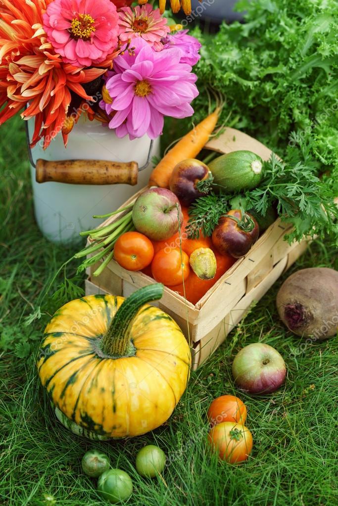 Beautiful autumn arrangement
