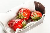 čerstvé zralé červené jahody