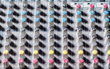 audio mixer keyboard