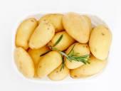 Photo fresh boiled potatoes