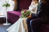 Fotografie couple at wedding day