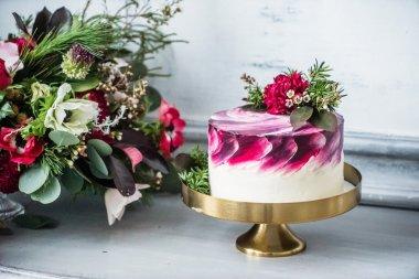 cake for Valentine day