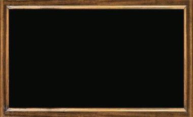 Old blackboard, closeup