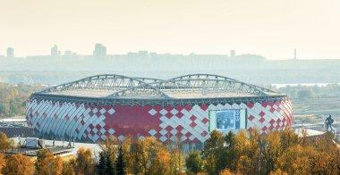 MOSCOW, RUSSIA, 2015: new stadium Spartak