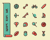 Photo Fat Line Icons