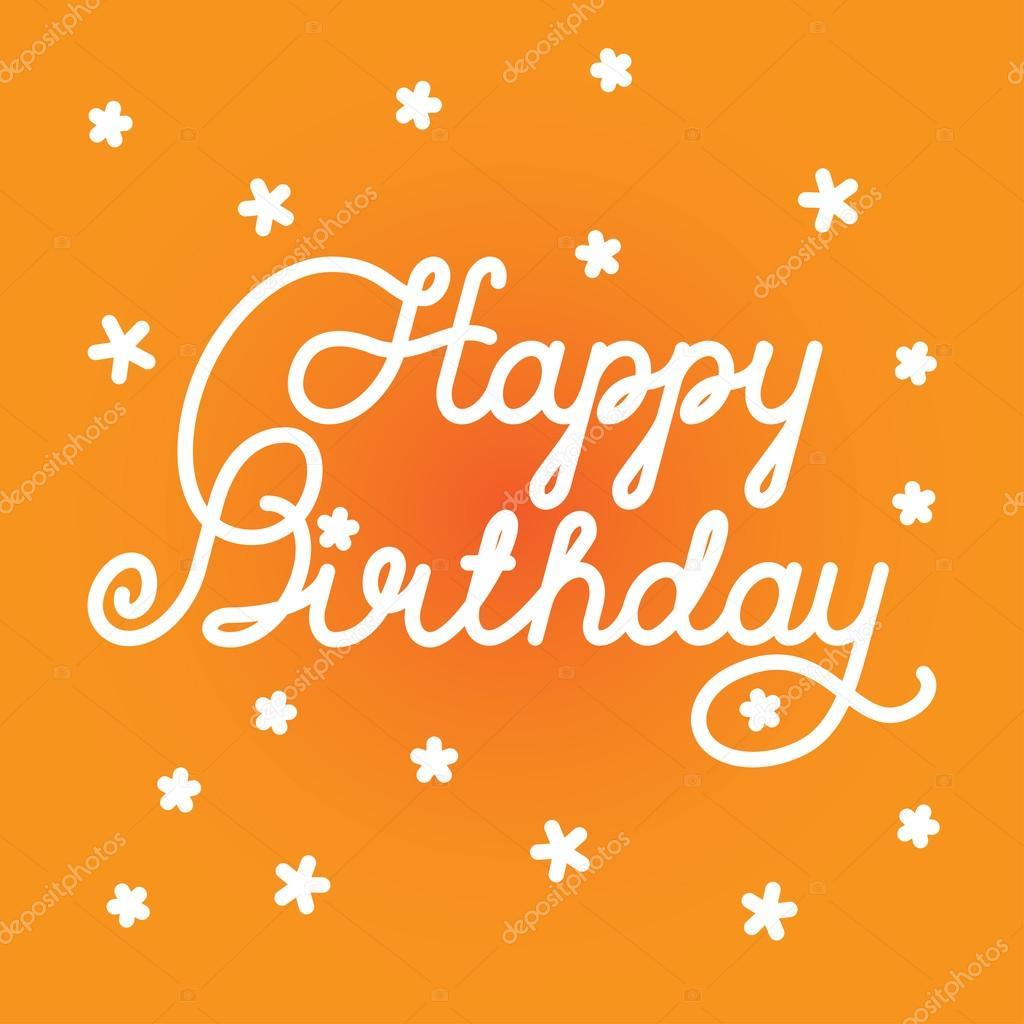 3a154b11b20ce Feliz cumpleaños — Vector de stock © nrey ad  85023382